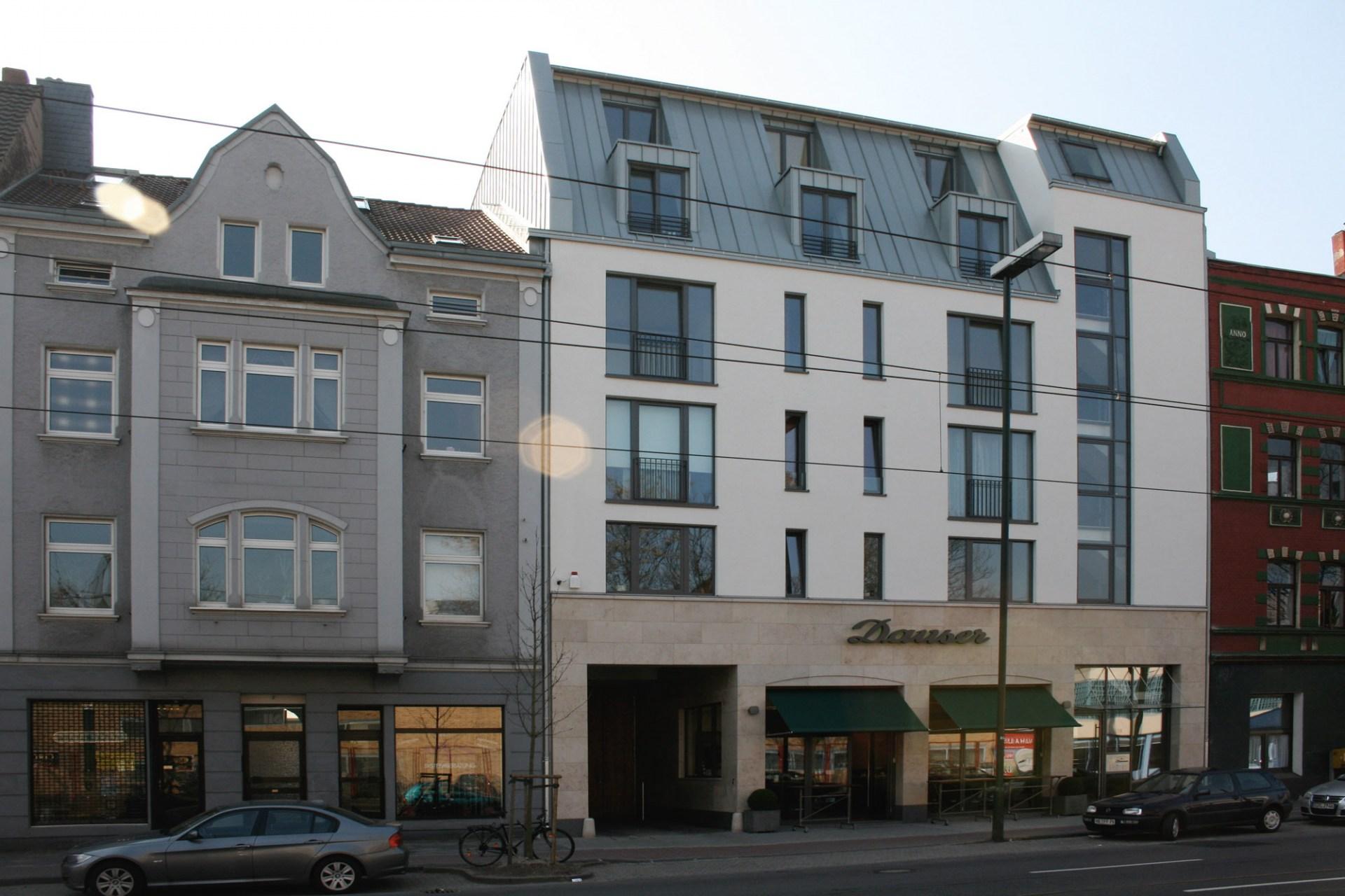 Schrage Architekten Geschäftshaus Ulmenstraße