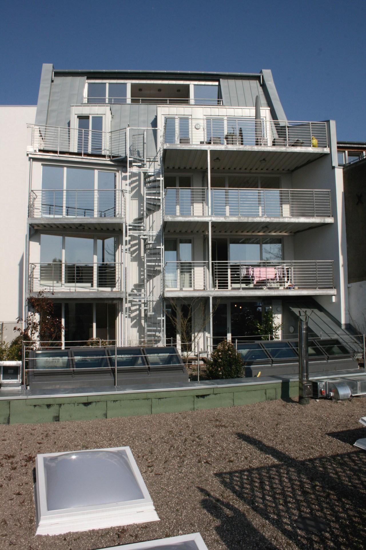 Schrage Architekten Wohnhaus Ulmenstraße